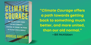 Climate Courage Background Quote