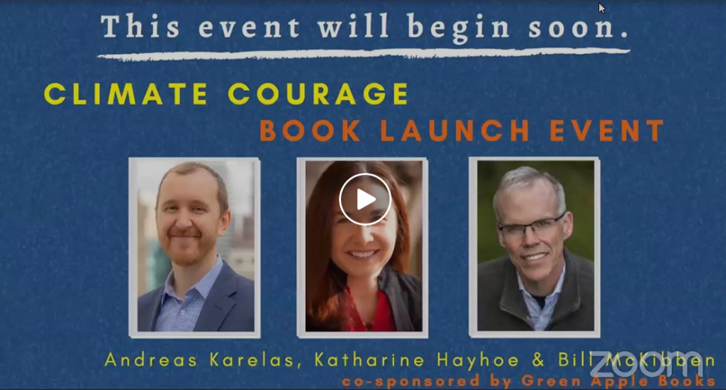 Climate Courage Event Video Image